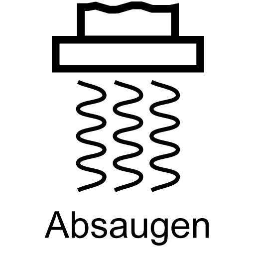 Absaugen
